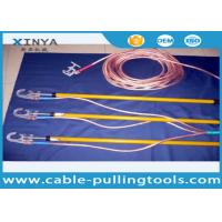 China 110 KV Earthing Device Safety Tools Electrician 220KV With Copper Wire / Ground Clip wholesale