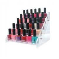 Quality Acrylic Nail Polish Holder Acrylic Displays With  Beautiful Shape for sale