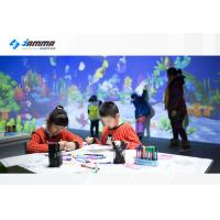 Buy cheap Magic Painting Interactive Touch Screen Projector Multiplayer Available Infrared Sensing Radar product