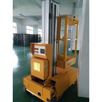 Buy cheap Self Propelled Electric Cherry Picker Single Mast Aerial Platforms Manlift product