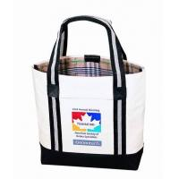 Buy cheap Custom Canvas Bags With Long Strap Inside Small Zipper Pockets product