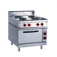 China Stainless Steel Kitchen Commercial Baking Ovens , Industrial Bakery Ovens With Cabinet wholesale