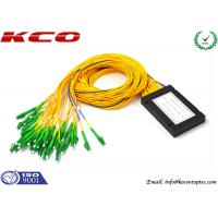 Buy cheap LC APC Fiber Optic PLC Splitter product