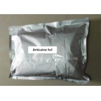 Buy cheap Top Grade Relieve Pain Local Anesthetic Powder Articaine Hydrochloride CAS 23964-57-0 from wholesalers