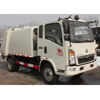 Waste Disposal Vehicles Garbage Collection Truck , Compressed Refuse Compactor Truck