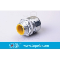 Buy cheap Liquid Tight Straight Connector 4'' Flexible Conduit And Fittings product