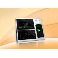 China Electronic Facial Recognition Time Attendance System , Face Attendance Machine with TCP/ IP wholesale