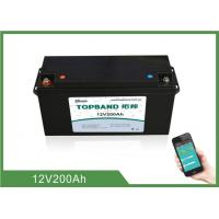 Buy cheap High Rate Discharge 12V 200Ah Bluetooth Lithium Battery Lifepo4 Cells product