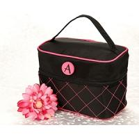 Buy cheap Black travel make up bag for women product