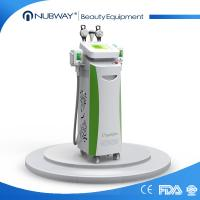 Buy cheap 5 cryo handles cryolipolysis cavitation rf slimming machine cool tech shape fat from wholesalers