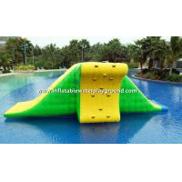0.9mm Durable PVC Tarpaulin Inflatable Action Tower For Water Park