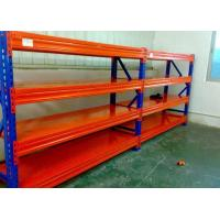 Buy cheap Professional 3 Shelf Steel Storage Shelves High Density For Garage product
