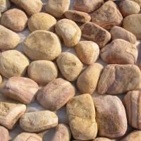 Buy cheap Yellow Sandstone Pebble Wall Stones,Landscaping Pebbles,Pebble L Corner Stone,Pebble Wall Cladding,Pebble Stones product