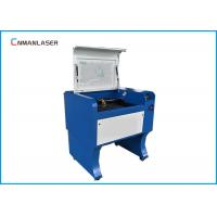 Buy cheap Rubber Plates Laser Leather Cutting Machine 60W 110 / 220V With USB Port from wholesalers