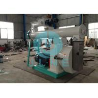 Quality Straw Alfafa Ring Die Feed Pellet Mill / Small Feed Pellet Mill for sale