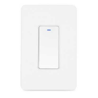 Buy cheap 50Hz Touch Screen Dimmer Switch US Standard 100000 Times Life product
