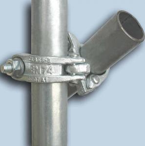 Buy cheap BS1139 / EN74 48.3*3.25mm Hot Galvanized Scaffolding Steel Tube product