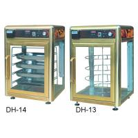 Buy cheap 900W Food Display Showcase Electric Revolving Pizza Display Warmer With Humidifier product