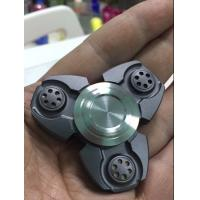China Fidget spinner 2017 Magic Decompression Three Sides Plastic Fidget Spinner for Kids wholesale