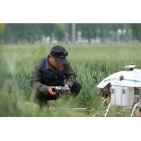 Buy cheap Semi Control Remotely Piloted Helicopter Pesticide Spraying System 24 Hectares a Day product
