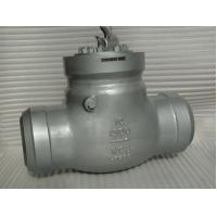Buy cheap CL 1500 API 594 Flanged Check Valve 2'' BW Pressure Self - Sealing Type product