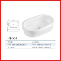 Buy cheap china porcelain cheap hair salon counter washbasin house design in low price from wholesalers