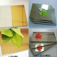 Buy cheap 1500mm in width wall panel exterior mirror sheet with 7003 aluminum product