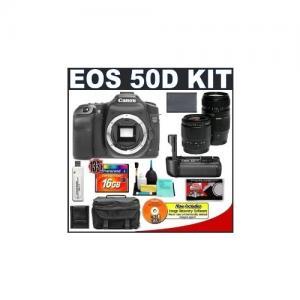 China Canon EOS 50D Digital SLR Camera Body + Canon BG-E2N Grip + Tamr on sale