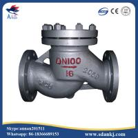 Quality High quality flanged swing GB lift stainless steel water check valve with low for sale