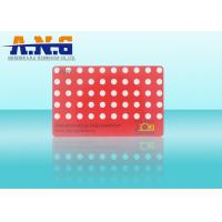 China Offset Printing PVC Rfid Smart Cards with 100000 Times Endurance on sale