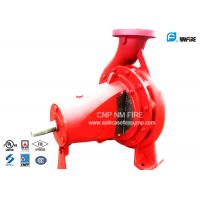 Buy cheap Horizontal End Suction Centrifugal Pumps 134 Meter Ductile Cast Iron Casing product