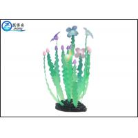 China  Green Silicon Dancing Seaweed Aquarium Decorations For Fish Tanks  for sale