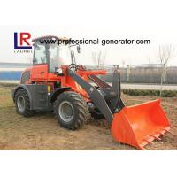 Buy cheap CE 2.5 Ton Strong Power Small Building Loader with Pallet Forks , Front Loader product