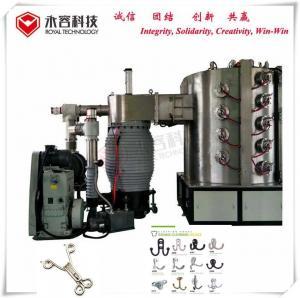 Buy cheap Metal Hooks Pvd Ion Plating Machine , Titanium Gold Vacuum Plating Machine product