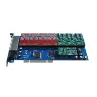 Buy cheap TDM1200P 12 Port fxs/fxo Voip Asterisk PCI Card product