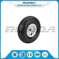 Buy cheap Comb Pattern 10 Inch Pneumatic Wheels Large Friction Against Tire Skidding product