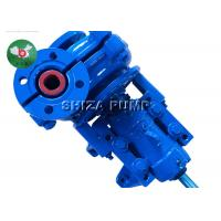 Coarse Sand Handling AH Slurry Pump , 4 Inch Outlet Mine Rubber Lined Centrifugal Pumps