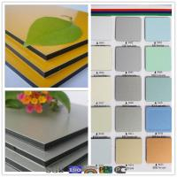 Buy cheap PVDF printing aluminum composite panel for outdoor construction material product