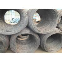 Buy cheap Vehicle GB SWRH72A High Carbon Spring Steel Wire Rod , Hot Rolled Steel Rod product