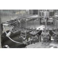 Buy cheap Fully Automatic 3 In 1 Water Filling Machine , Carbonated Beverage Bottling Equipment product
