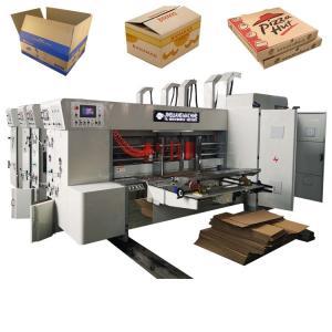 China Corrugated Carton Box Flexo Printer Slotter Die Cutter on sale