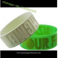 Buy cheap HOT Sale! Custom Design Colorful silicone wristband, best printed rubber wristband product