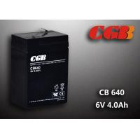 Buy cheap CB640 No Leaking Sealed Lead Acid Battery 6v 4ah , High Efficiency Ups Battery product