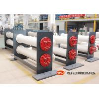 Quality ISO Approved Shell & Tube Stainless Steel Heat Exchanger 30 hp Refrigeration for sale
