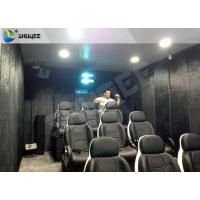 Buy cheap Yamaha Speaker Mobile 5D Motion Theater With NEC Projector For Amusement product