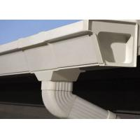 Buy cheap Vinyl Rain Gutters Plastic PVC Rain Gutters Pipes OEM For Roof product