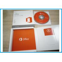 Genuine Microsoft Office 2016 Pro Standard Dvd Retailbox Full Version Activation
