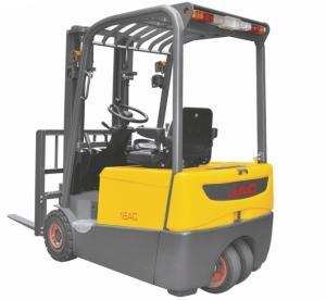 Buy cheap Three Wheel Electric Forklift Truck 1 ton capacity Small Turning Radius product