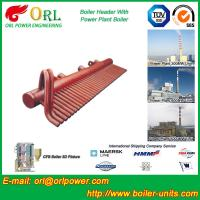Buy cheap 100 Ton Boiler Header Manifolds Carbon Steel Boiler Unit for Natural Gas Industry product