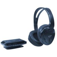 Buy cheap RF wireless PC headset with FM Radio and Microphone product
